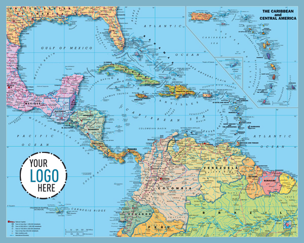 Caribbean Map Map Of The Caribbean Maps And Information About - Us and caribbean map