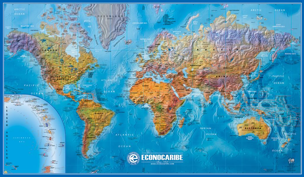 GABELLI US INC V - Physical world map